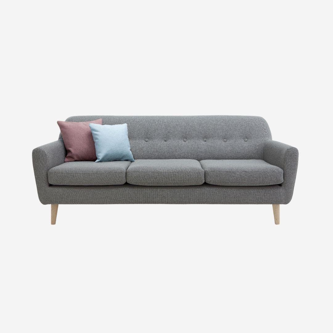 Mid Century Sofa 3 Seater