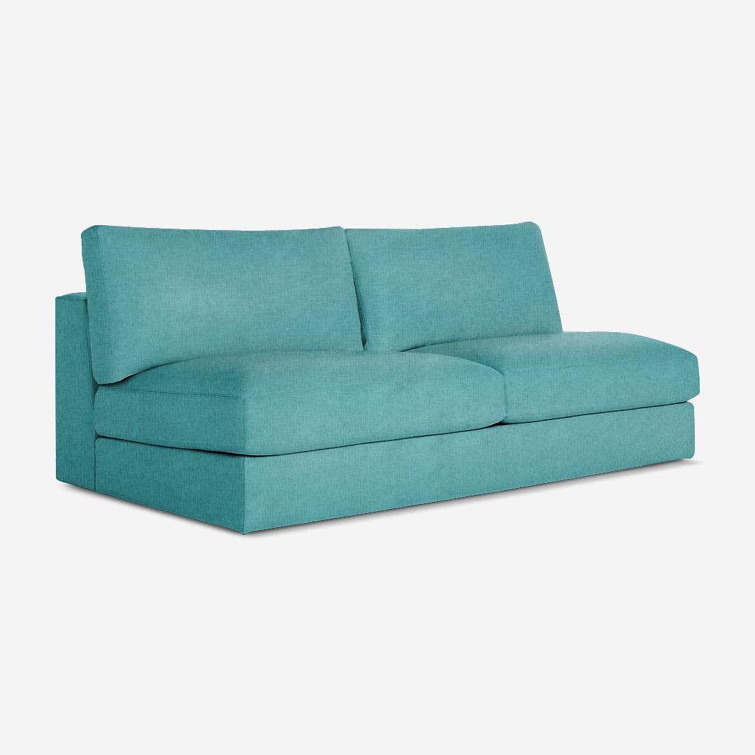 Ovaltine 2 Seater Armless Chair