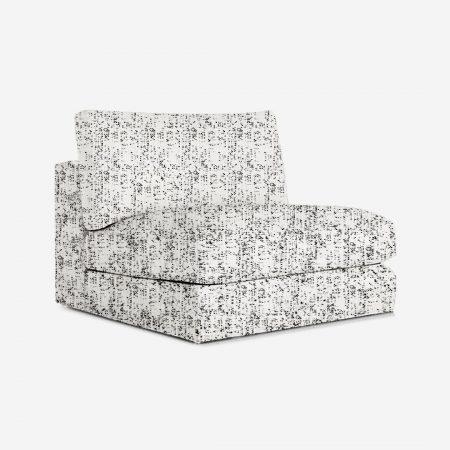 Sora 1 Seater Armless Chair