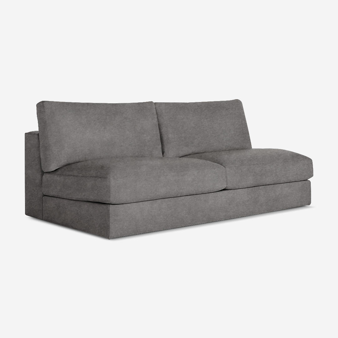 Viola 2 Seater Armless Chair