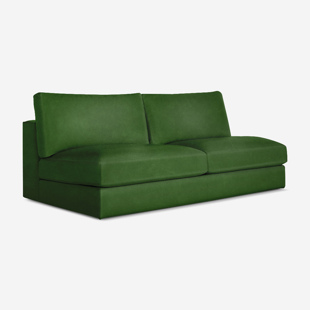 Dominic 2 Seater Armless Chair