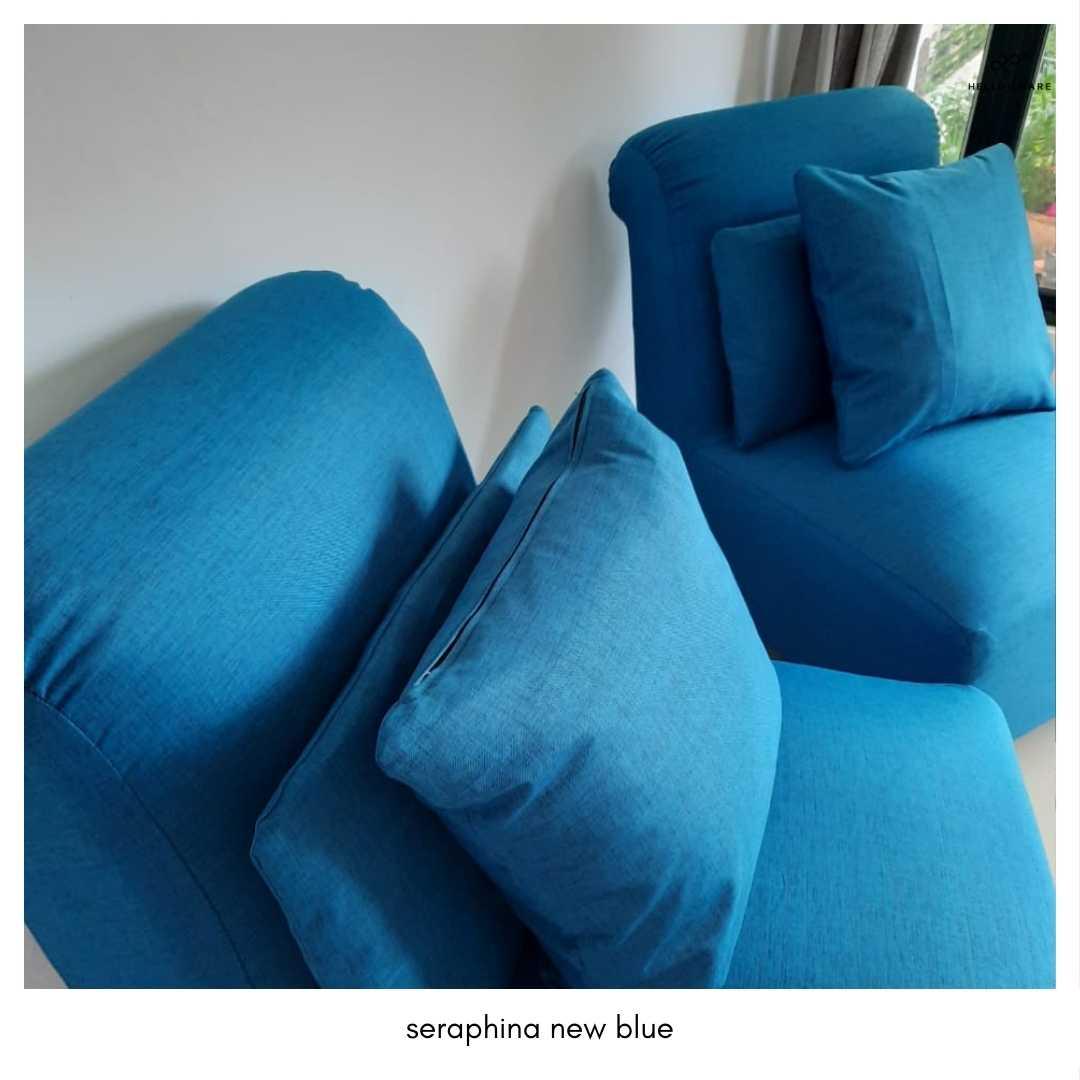 1 Seater Armless Sofa Seraphina