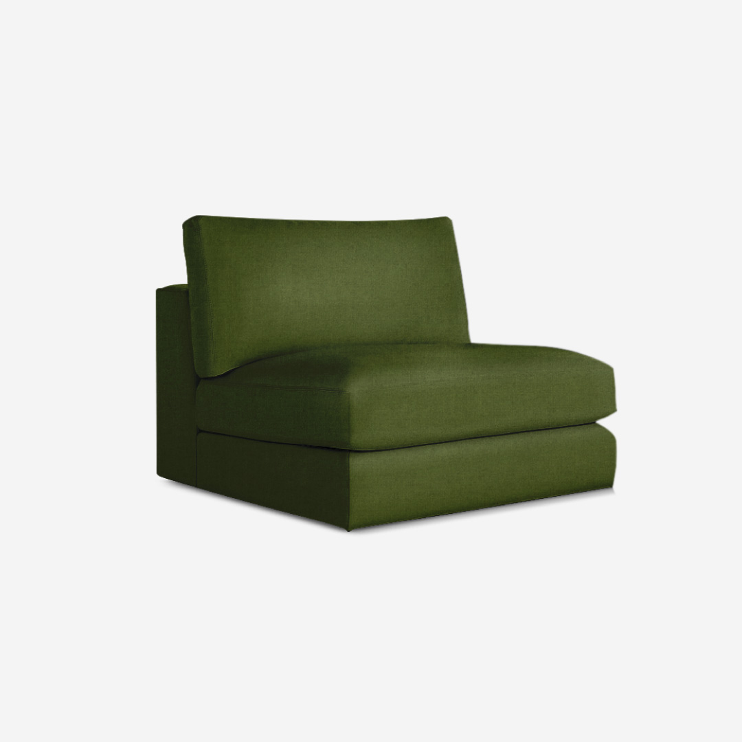 Soleil 1 Seater Armless Chair