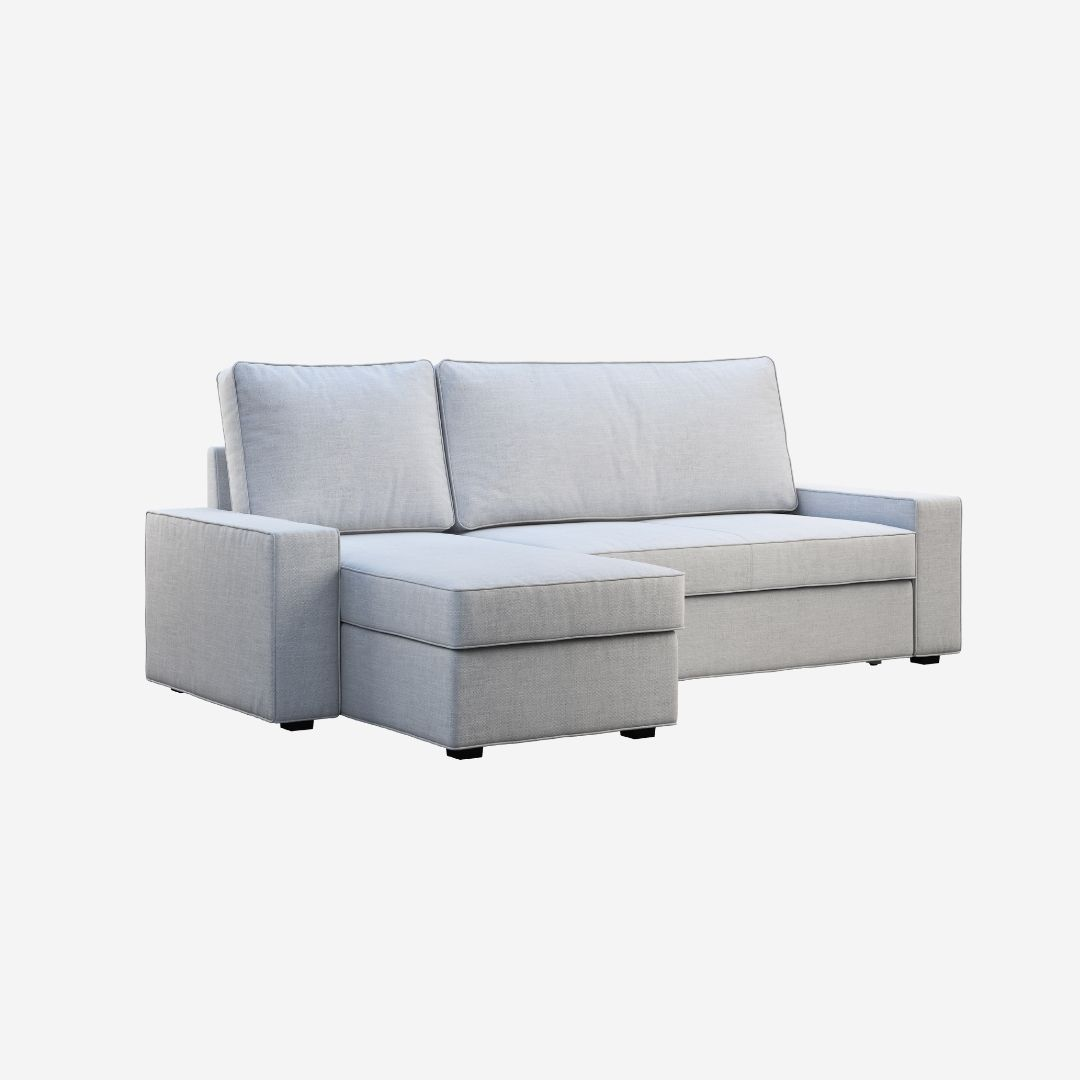 Storage Sectional Sofa 4 Seater Soleil