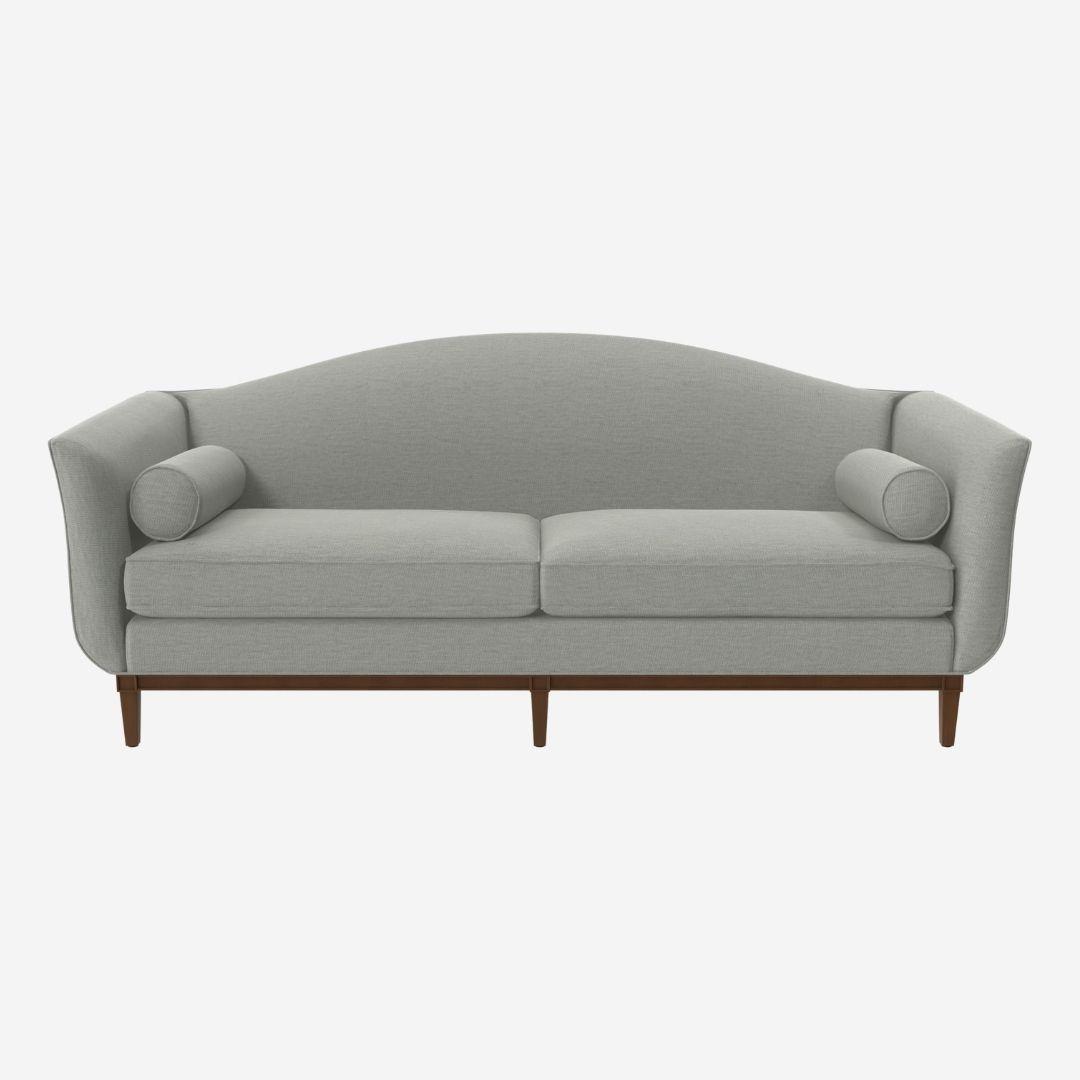 Camelback sofa 3 seater
