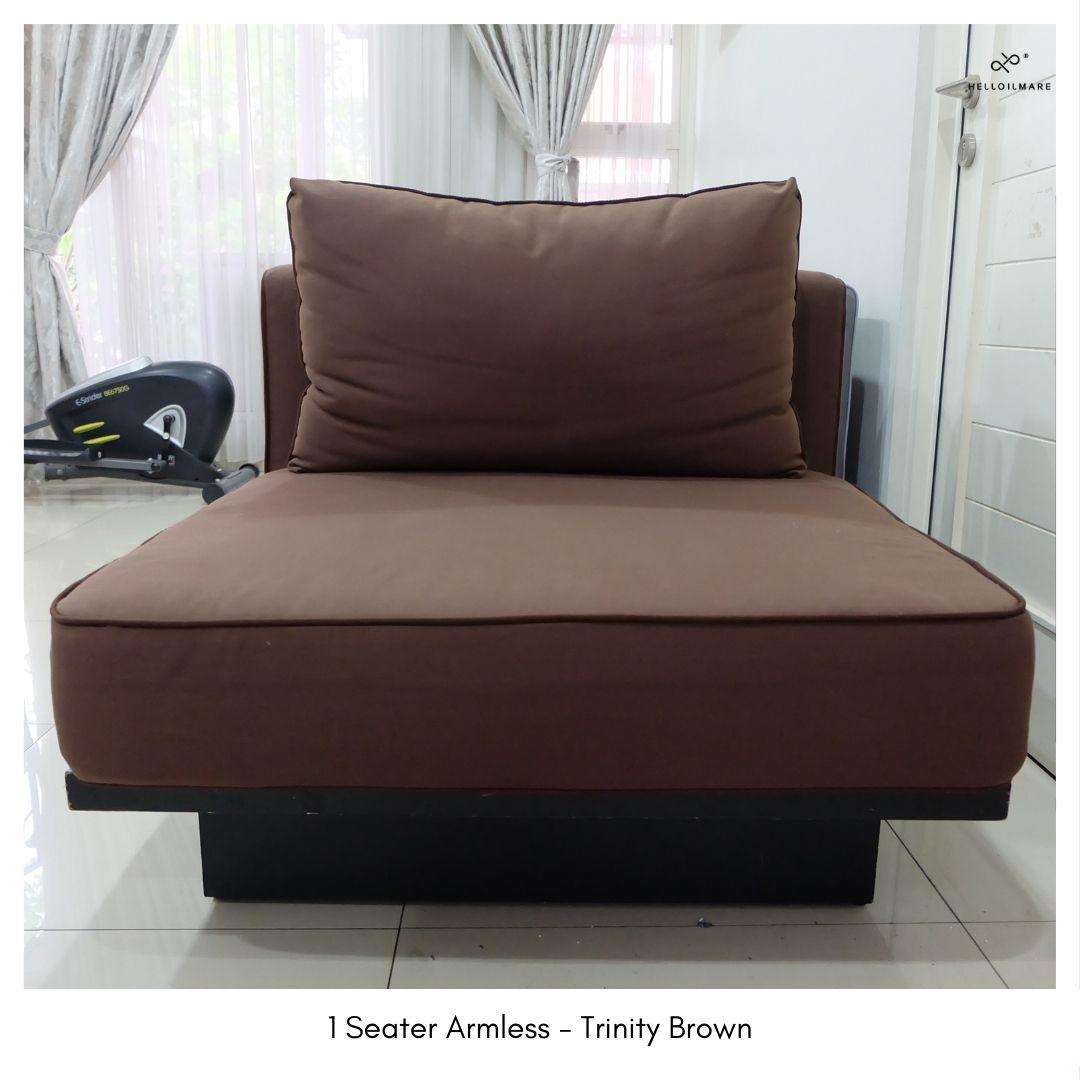 1 Seater Armless Chair Trinity