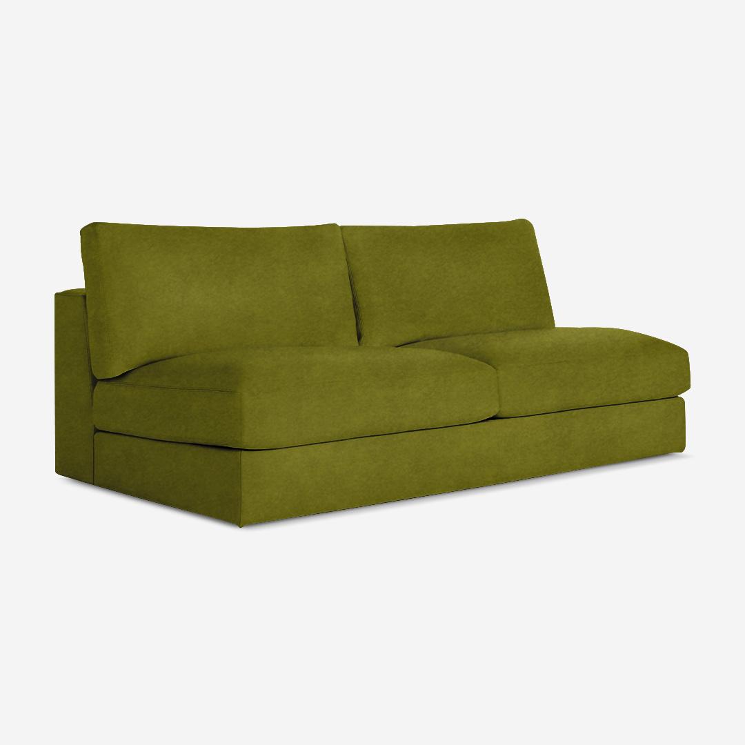 Mahdavi 2 Seater Armless Chair