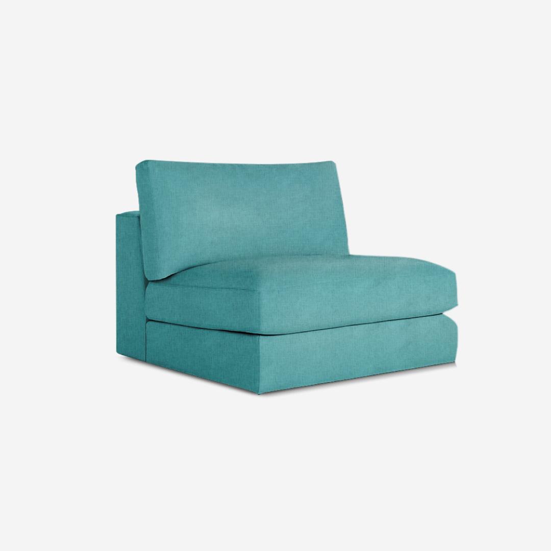 Ovaltine 1 Seater Armless Sofa