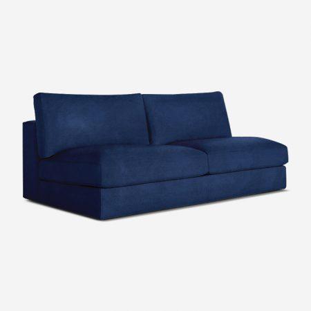 Eloise 2 Seater Armless Chair