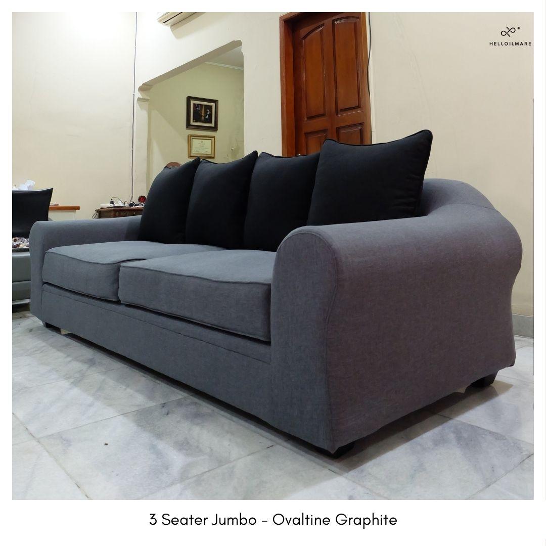 3 Seater Ovaltine